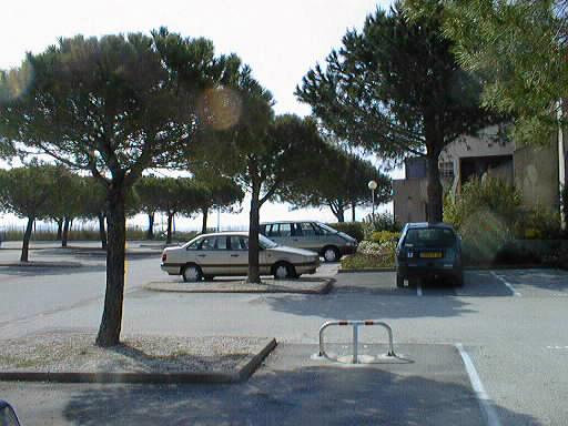 parking privatif résidence Marines du Levant