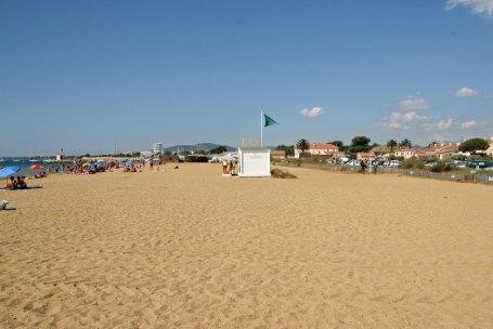 La plage familiale des Salins.