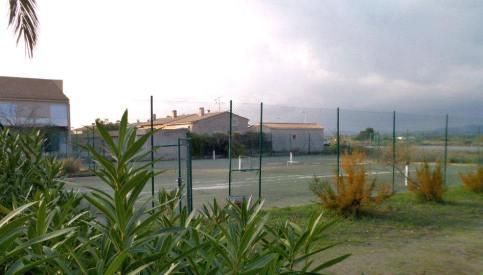 Court de tennis résidence Marines du Levant Hyères