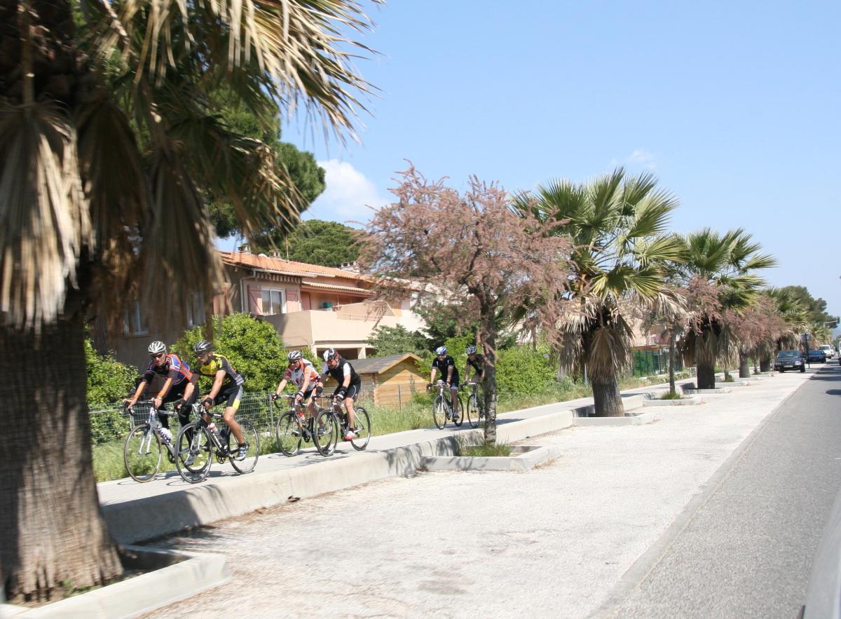 Les alentours d'Hyères à vélo