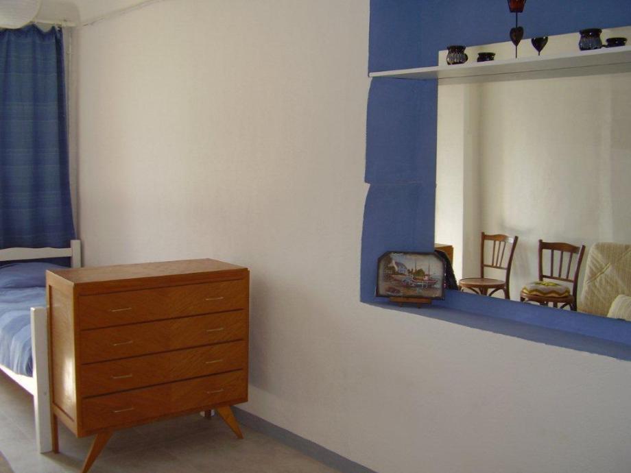Appartement Gonfaron, chambre bleue