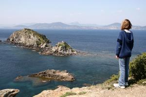 Le sentier littoral de Giens - Escampobariou