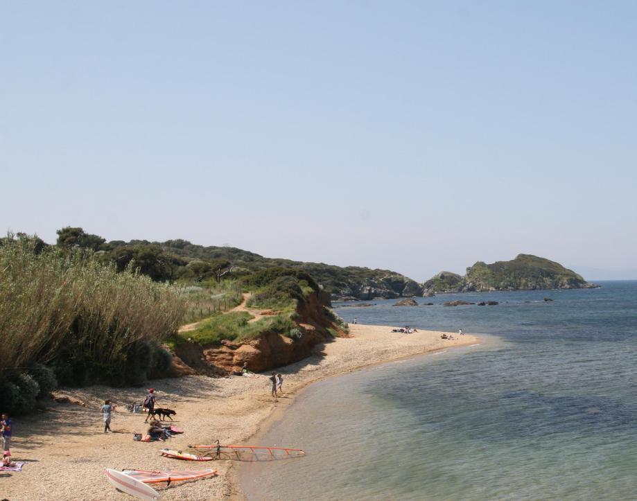 Crique, presqu'île de Giens.