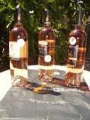 Vin rosé de Provence medallé