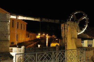 Port Pothuau, port Salins d'Hyères de nuit par Roland Gal.