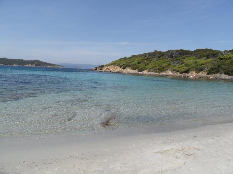 Best beach on Port Cros National Marine park