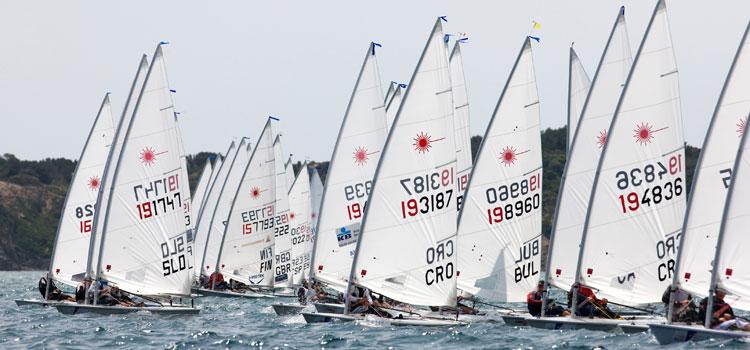 laser regatta in Hyères