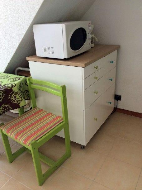 Nouveaux meubles de cuisine.